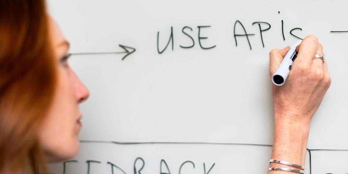 Use API written on a white board